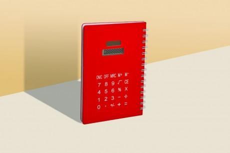 הדפסה על מחברת מחשבון דגם