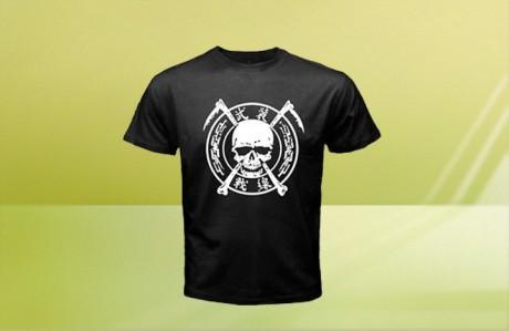 100 חולצות טריקו מודפסות