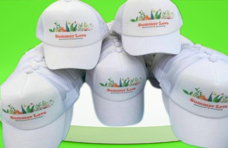 20 כובעי רשת מודפסים