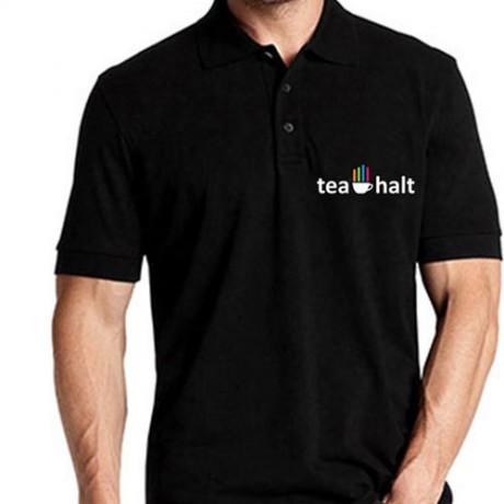 חולצת פולו מודפסת